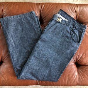 Michael Kors Trouser Jeans Silver Clasp